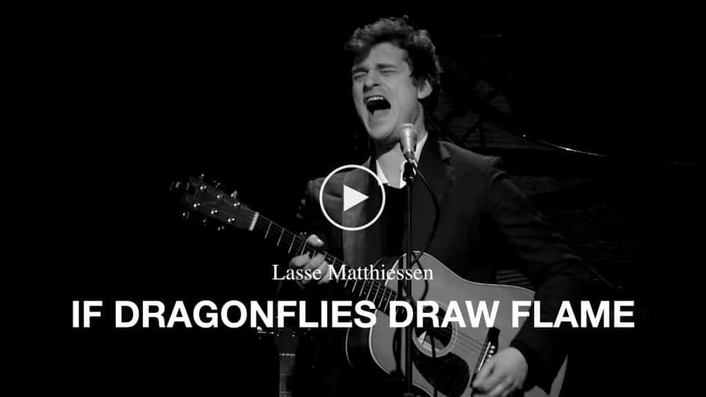 Video Lasse Matthiessen - If Dragonflies Draw Flame