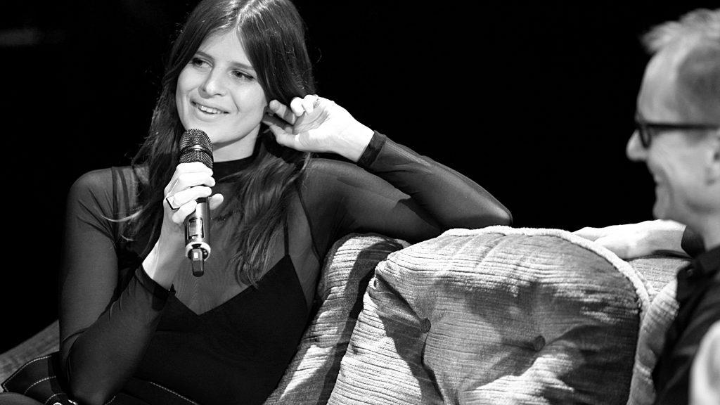 Sophie-Rose Harper von Paradisia im Gespräch bei TV Noir im April 2017