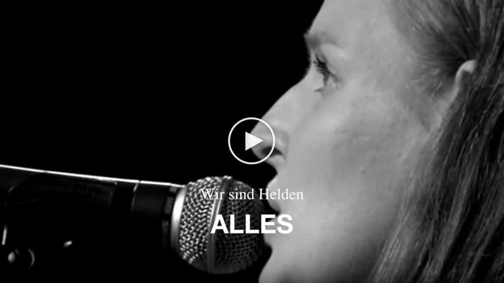 Video Wir sind Helden - Alles