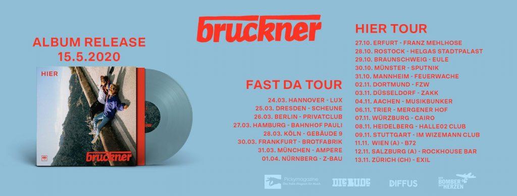 Bruckner auf Fast Da Tour